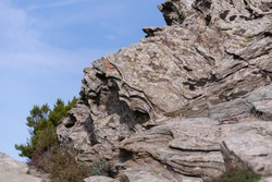 Interesting Stone and rock formations in the Mountains of Corsica