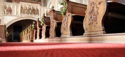 Interior basilica. Great soot. Great details