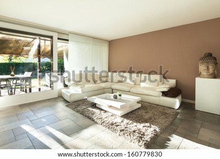 Interior, beautiful apartment, luxurious living room #160779830