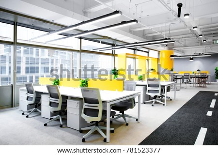 Interior building space office