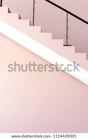 interior concept. closeup staircases background