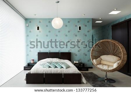 Interior Design: Bedroom #133777256