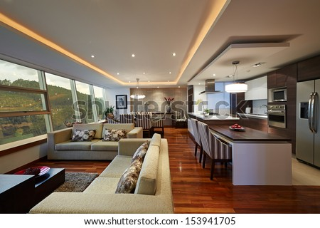Permalink to Open Concept Kitchen and Living Room – 55 Designs & Ideas