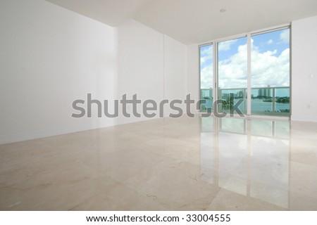 Interior Design blank presentation background
