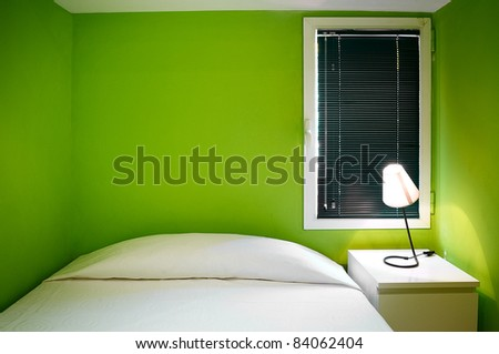 Interior Design: Modern Bedroom Stock Photo 84062404 :