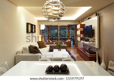 Interior design: Modern living room #155979197