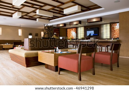 Interior Design - Restaurant Stock Photo 46941298 : Shutterstock