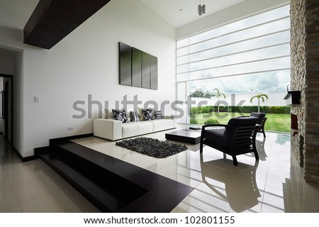 Interior design series: Modern living room #102801155