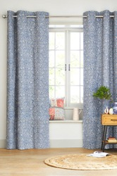 Interior design with a window. Living room interior room with Curtains