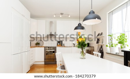 interior fancy kitchen
