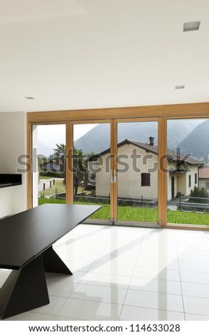 interior home, new kitchen, open space #114633028
