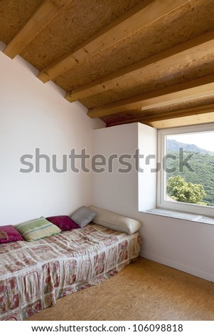 interior home, room with small bed