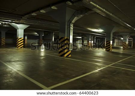 interior modern parking