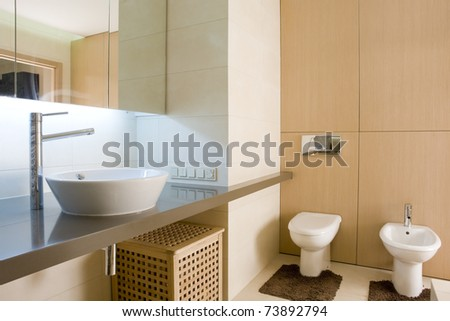 interior of a bathroom