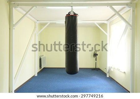 Interior of a boxing hall #297749216