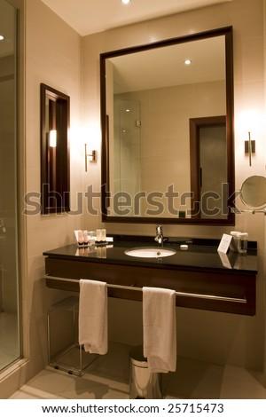 Interior of a generic bathroom
