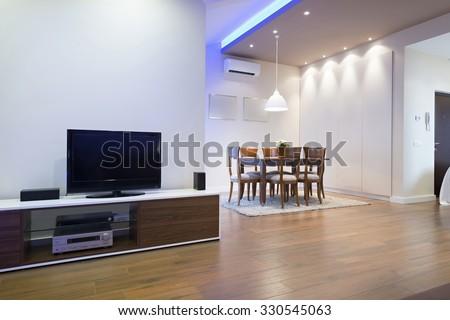 Interior of a luxury living room #330545063