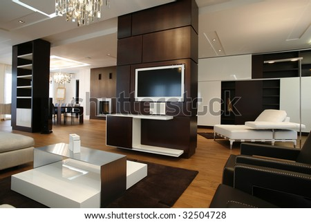 interior of a modern apartment