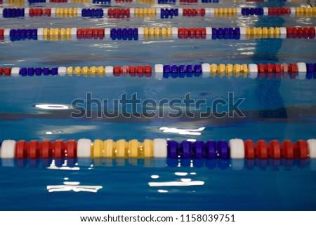 Interior of a public swimming pool #1158039751