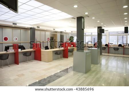 interior of a registration room