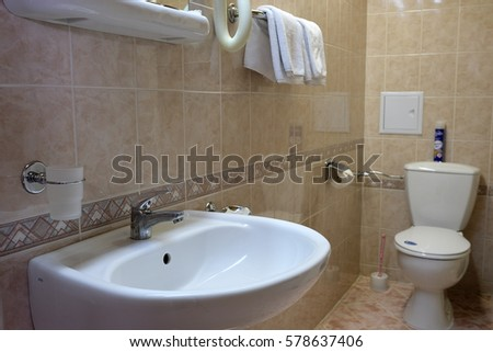 Interior of a toilet room #578637406
