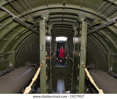 B 52 Bomber Interior Compartments http://www.shutterstock.com/pic-1927907/stock-photo-interior-of-a-wwii-b-g-bomber.html