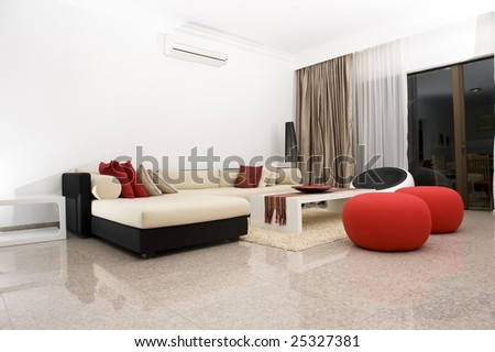Interior of an apartment