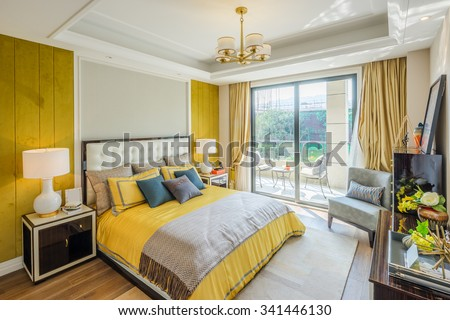 interior of bedroom #341446130