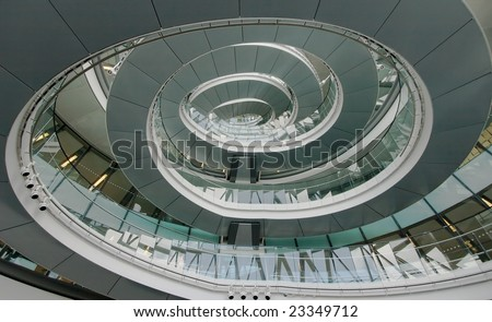 Interior of City Hall London