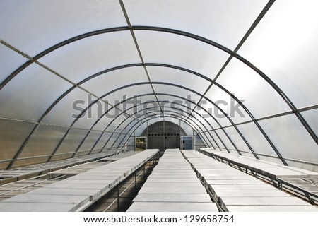 Interior of green house solar drying systems station