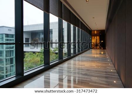 Interior of Hotel corridor