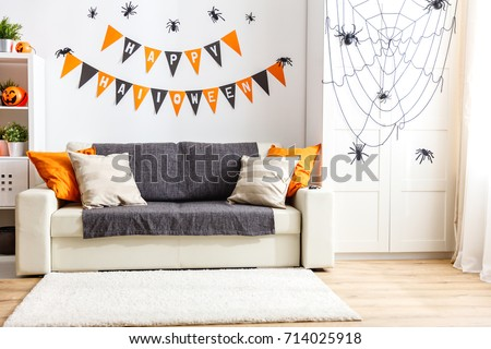 interior of   house decorated...