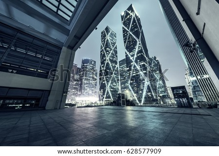 interior of Modern Architecture at china