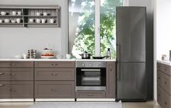 Interior of modern kitchen