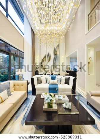 interior of modern living room #525809311