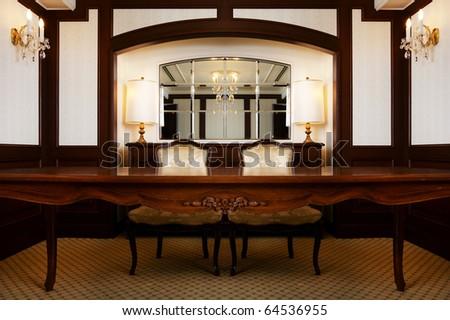 Interior of modern room