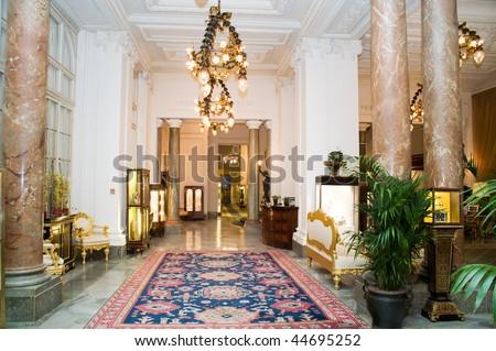interior of room, nobody, indoor - stock photo