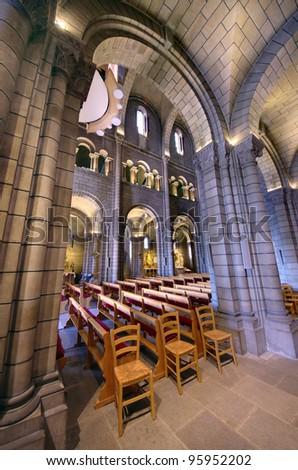 interior of Saint Nicholas Cathedral in Monaco