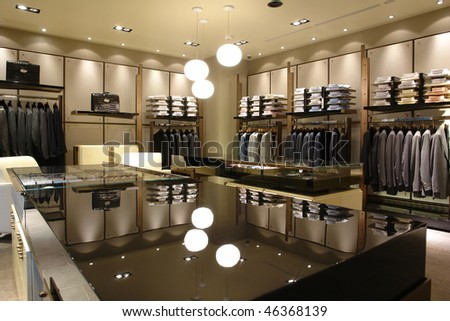 interior of shop
