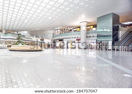 interior of shoppingmall