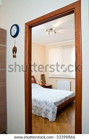 Interior of sleeping room