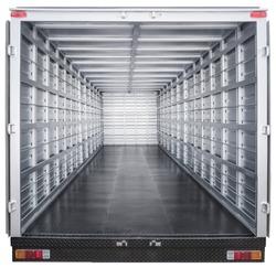 interior of truck trailer