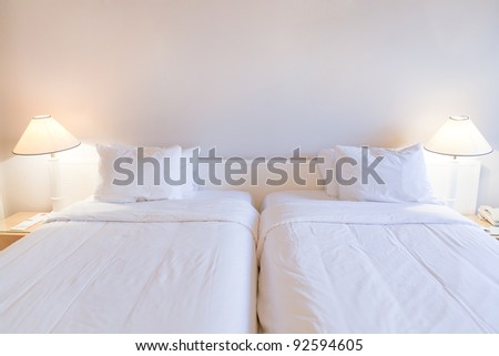 interior of two bed room