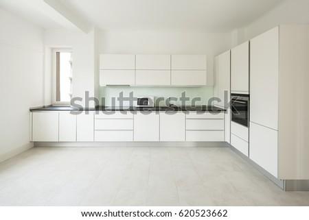 interior of white modern...