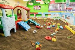 Interior, playground indoors