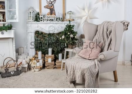 interior room decorated in...