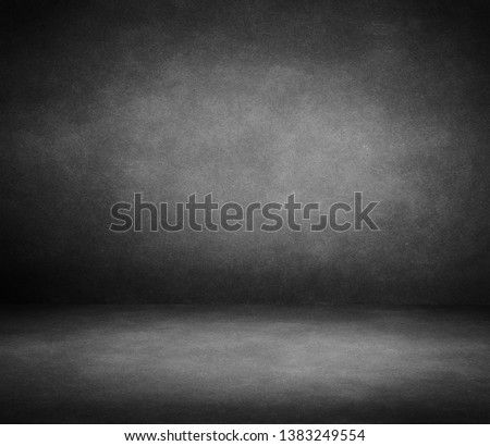 interior room with grunge grey wall #1383249554