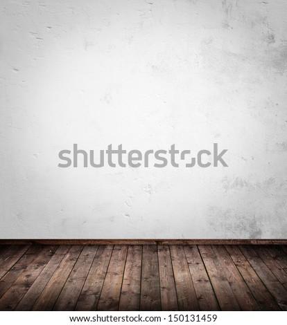 interior room with wooden floor
