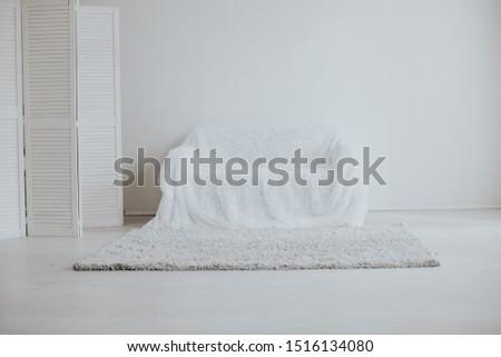 Interior sofa sofa in white room home #1516134080
