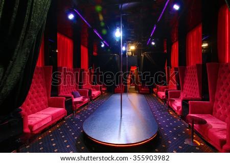 Strip club empty